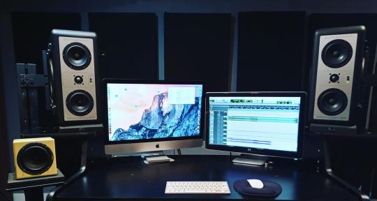 Mix, Produce, Compose, Record - Ice On Titan (Josh Benash)