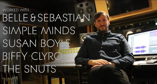 Producer and Mixer - Darryll McFadyen