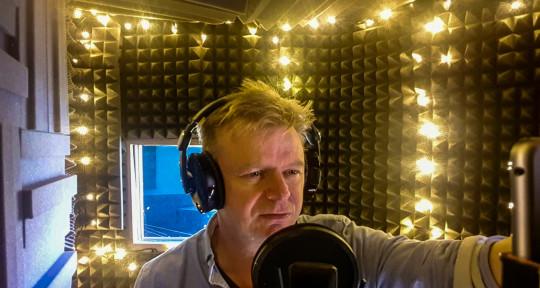 Voice over artist - Paul Berry