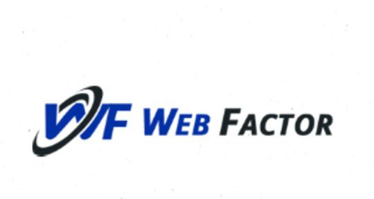 web design - webfactor