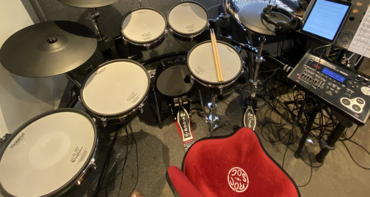 Studio Drummer - Will Hogan
