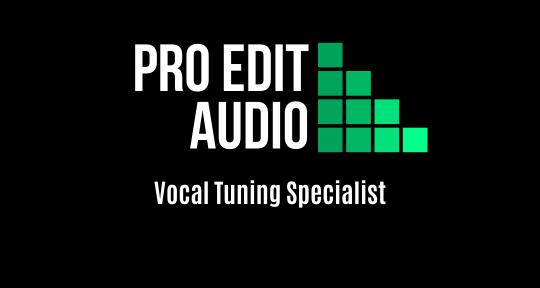 Vocal Tuning Specialist - Pro Edit Audio