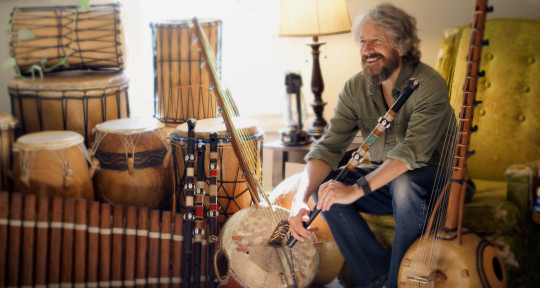 Fula flute, ngoni, djembe - Dave Kobrenski