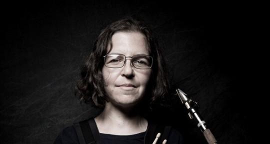 Drumming and bari sax - Wendy Scher
