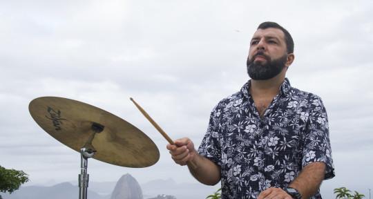 Gravação de bateria  percussão - Helbe Machado