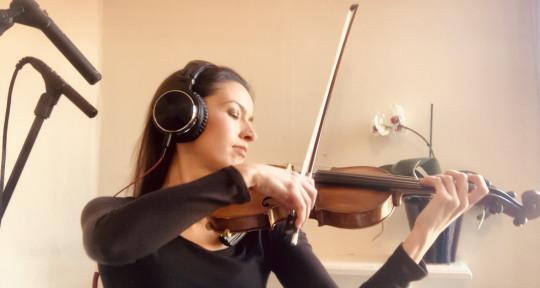 Session Violinist - Jamie Hutchinson