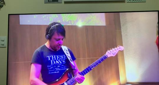 show guitarrist e estúdio - ren