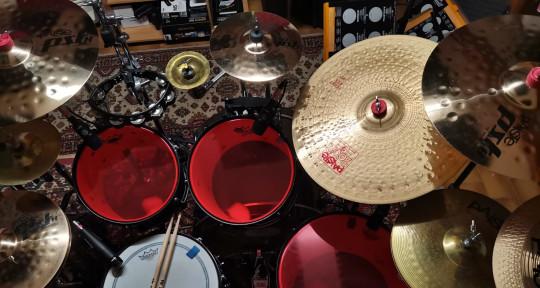 Private Session Studio Drummer - Lorenzo