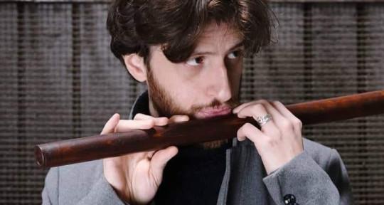 ethnic flutist, improviser  - Alessandro de Carolis