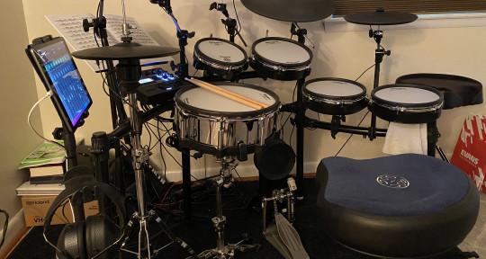 Session Drummer - Martin Evans