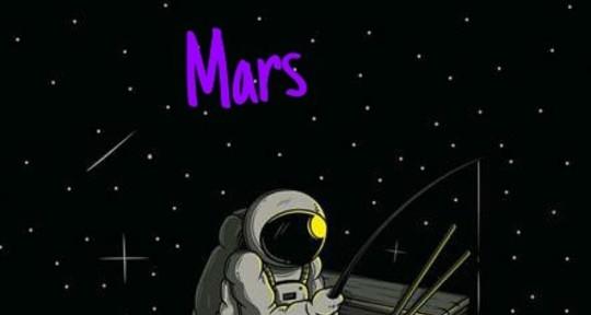 I'm an Artist and an Writer - Mars