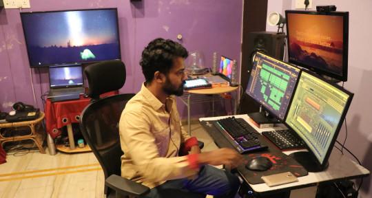 'Music Producer', Sound Design - Anugrah Kumre