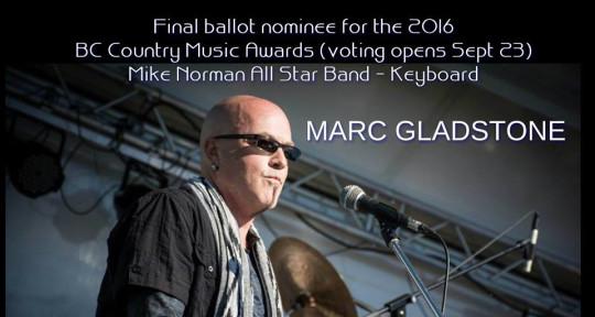 Keyboards/harmony vocals - Marc Gladstone