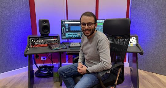 Recording/Mixing/Mastering - Santino Polidoro