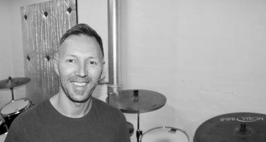 Drum Tracking, Session Drummer - Joachim Alfheim