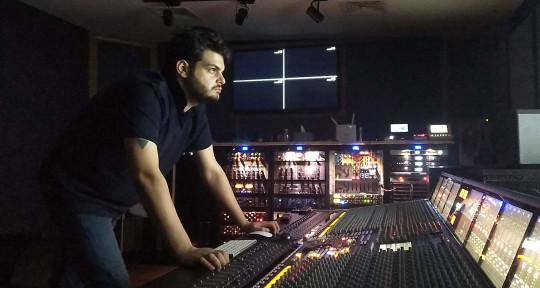 'Music producer & sound eng' - Taher Saleh
