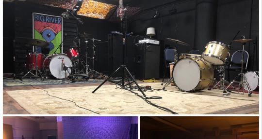 Professional recording studio  - Big River Records