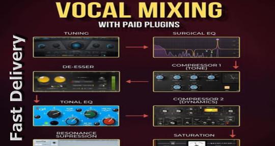 Cheap Mixing & Mastering - Sheikh Saadi