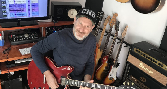 "Session guitarist / Producer. - Marcelo ""Polaco"" Wengrovski"