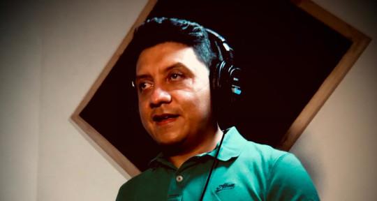 Percussion recording, composer - Julian Guacaneme