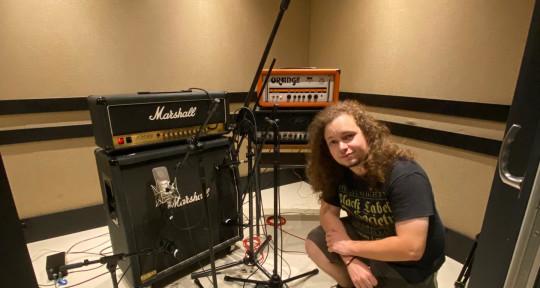 Guitarist, Mixer and Master'er - João Freitas