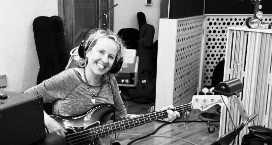 Top-Notch Session Bass Player - Alison Prestwood