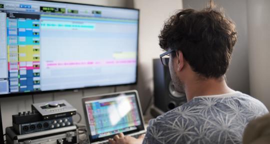 Produccion, mezcla, mastering - Nicolas