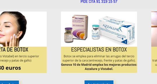 Botox Madrid - Botox Madrid