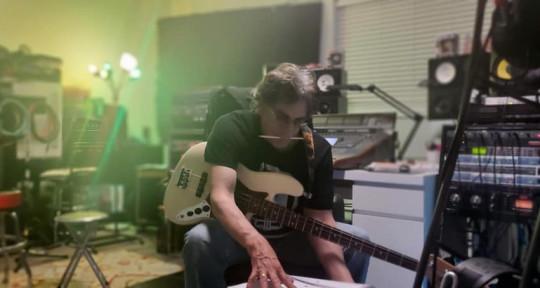 Record producer mixer . - Rob Begg