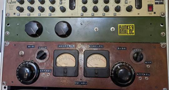 Analog recording and mastering - BUNKER ANALOG