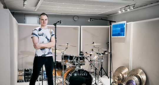 Session Drummer - Tuomas Rauhala