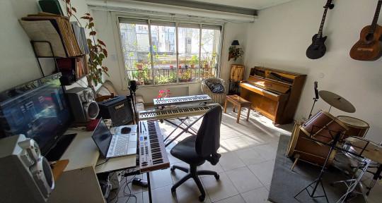 Session Keyboardist/Pianist - Mauricio Miranda