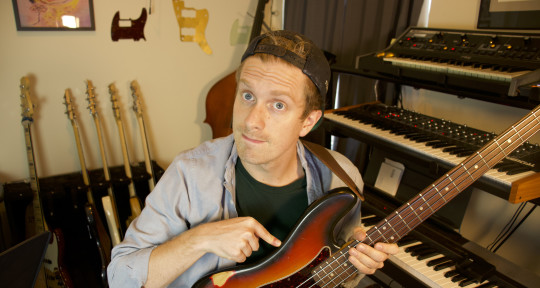 Session Bass | Guitar | Synths - Luke Anderson