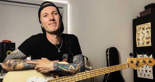 Rock And Punk Bass Guitarist - Blake Cateris