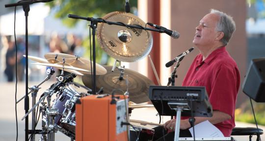 Drummer/percussionist/vocalist - Ken Duncan