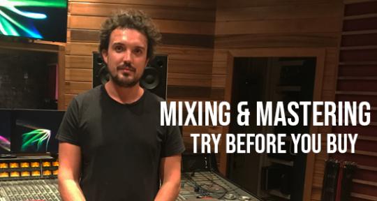 Remote Mixing & Mastering - Chris Peden