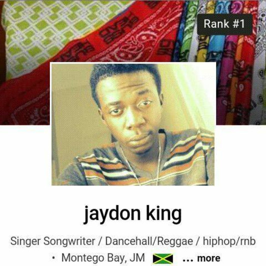 jaydon king on SoundBetter