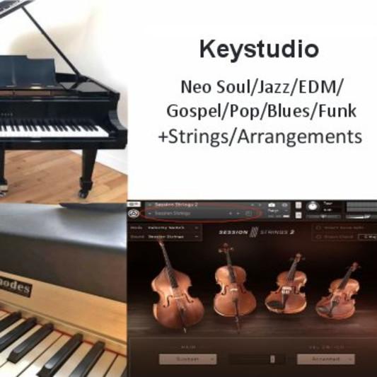Keystudio on SoundBetter