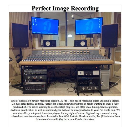 Perfect Image Recording on SoundBetter