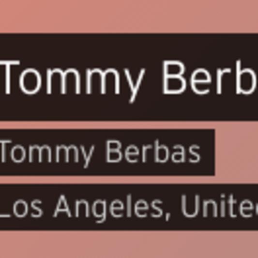 Tommy Berbas on SoundBetter