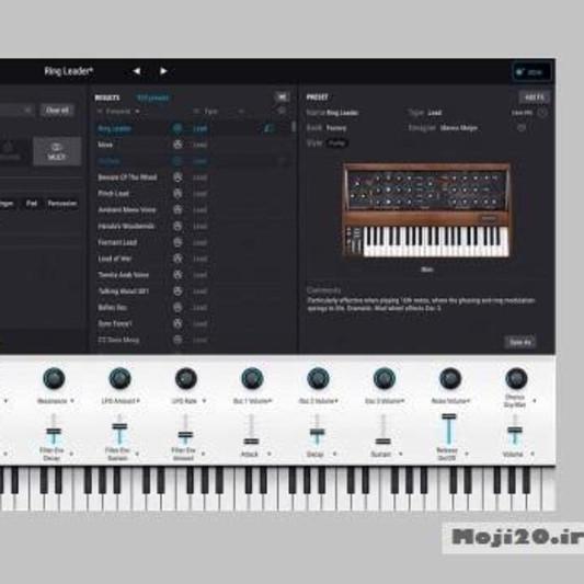 Arturia Analog Lab Lite on SoundBetter