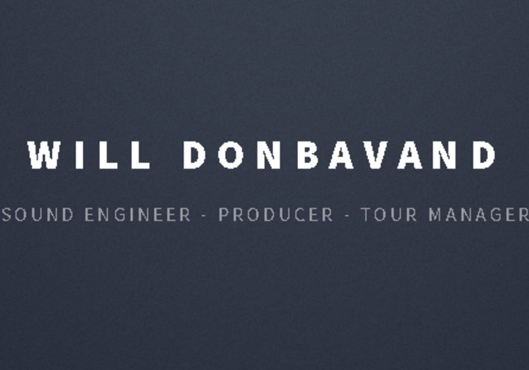 Will Donbavand on SoundBetter