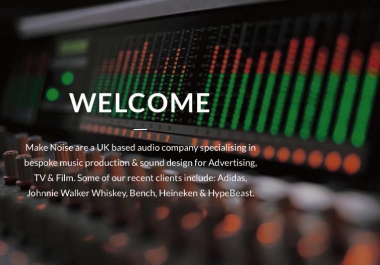 Make Noise Audio on SoundBetter