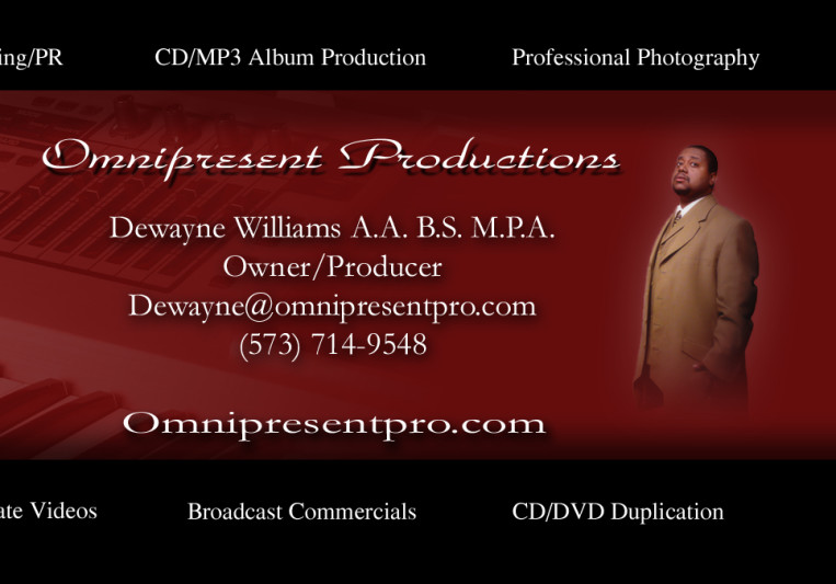 Dewayne Williams on SoundBetter