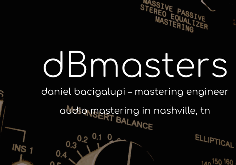 db Masters on SoundBetter