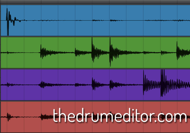 The Drum Editor on SoundBetter