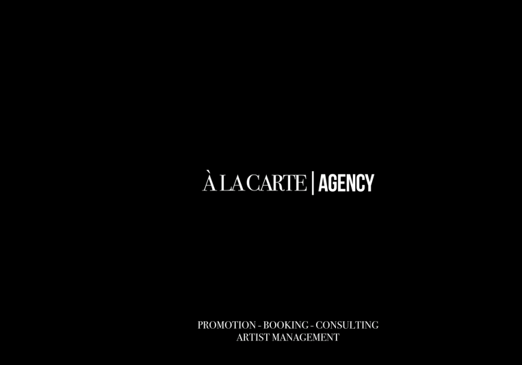 À La Carte Agency on SoundBetter