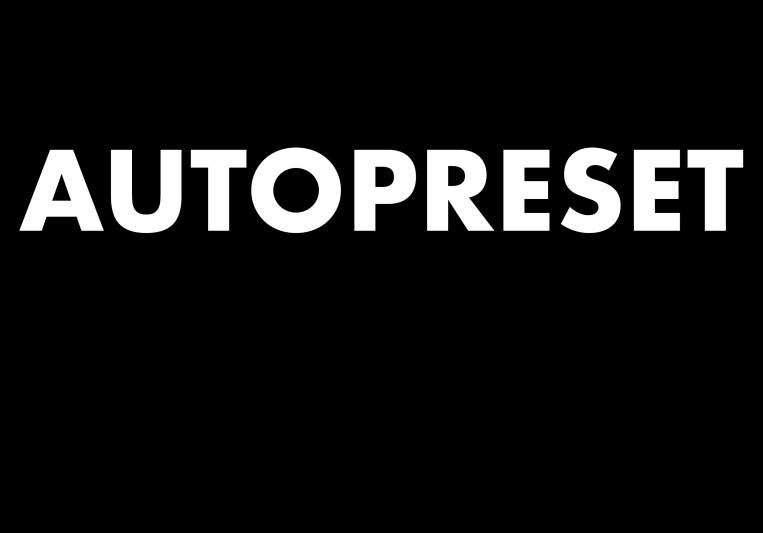 Autopreset on SoundBetter