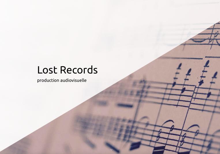 Lost Records on SoundBetter