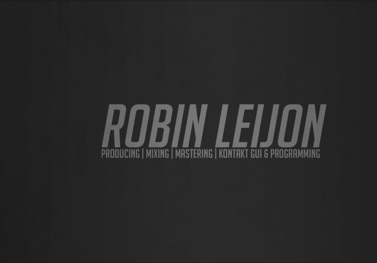 Robin Leijon on SoundBetter